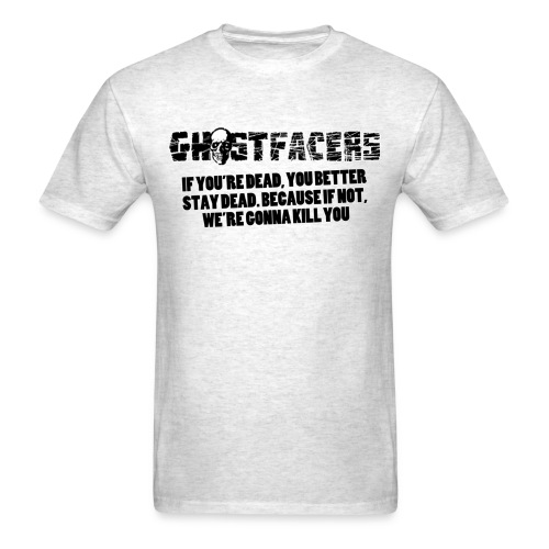 Men's Ghostfacers Tee - Men's T-Shirt