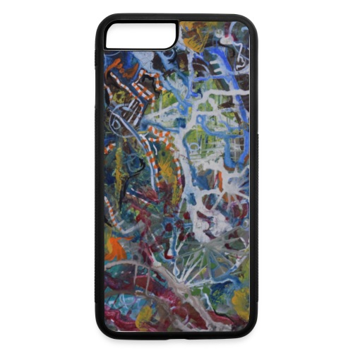 Maps of Liquid Sand - iPhone 7 Plus/8 Plus Rubber Case
