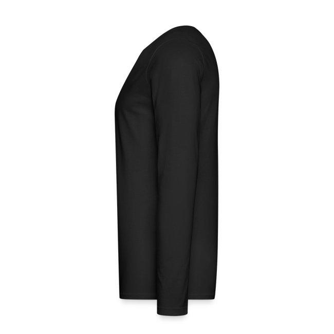 Men's New NM-ISM Black Logo Long Sleeve Tee