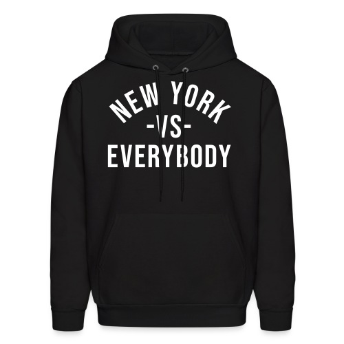 New York Vs Everybody Hoodie - Men's Hoodie
