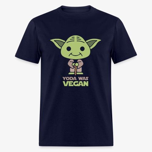 YODA Was VEGAN Premium Cotton Men T-Shirt - Men's T-Shirt