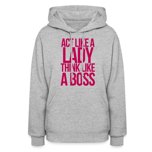 Lady|Boss |Hoodie - Women's Hoodie
