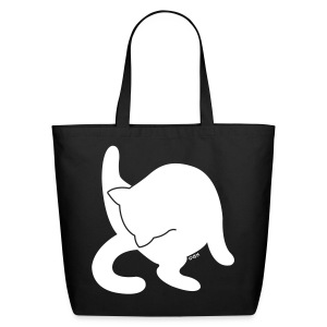 White Cat - Eco-Friendly Cotton Tote