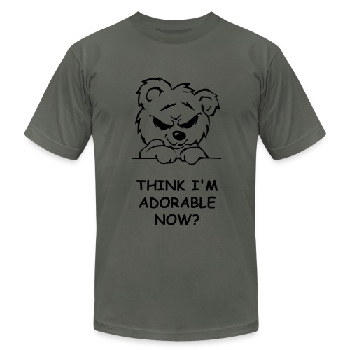 Devious Bear - Men's Fine Jersey T-Shirt