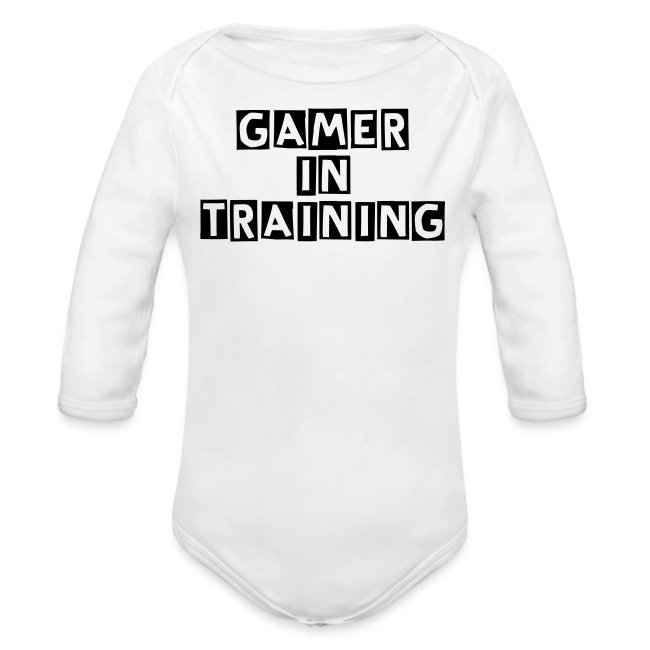 Gamer In Training
