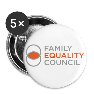 Family Equality Buttons - Small Buttons