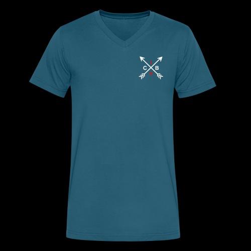 CIB Cross Arrows - Men's V-Neck T-Shirt by Canvas