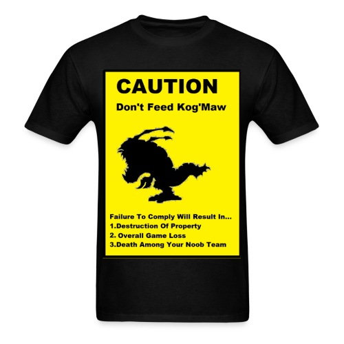 Dont feed the Kog - Men's T-Shirt