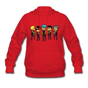 [Running Man!] Big Bang Ep 84 & 85 Colored - Women's Hoodie