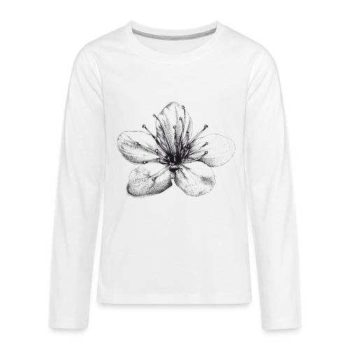 Cherry Blossom - Kids' Premium Long Sleeve T-Shirt