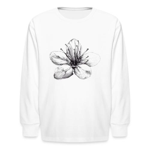 Cherry Blossom - Kids' Long Sleeve T-Shirt