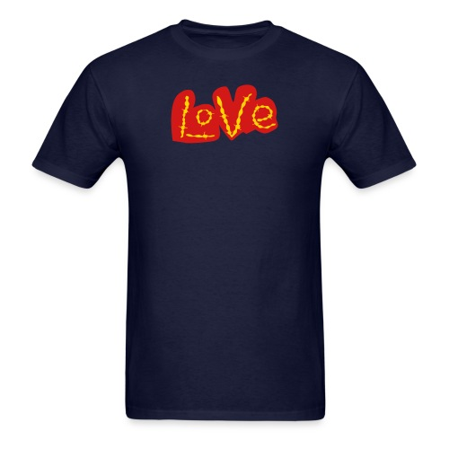 Golden Love - Men's T-Shirt