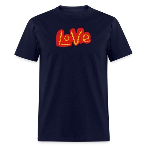 Golden Love - Men's T-Shirt