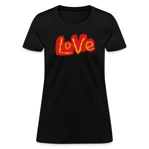 Golden Love - Women's T-Shirt