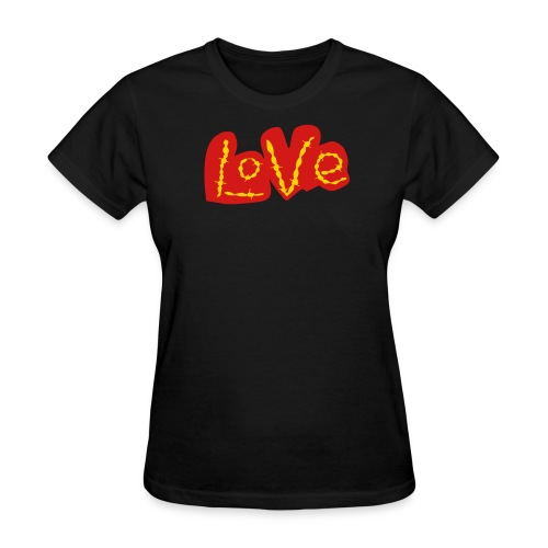 Golden Love - Women's T-Shirt
