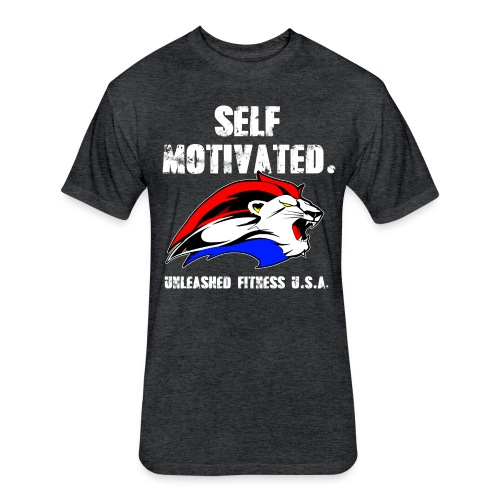 Self Motivated Men's Tee - Fitted Cotton/Poly T-Shirt by Next Level