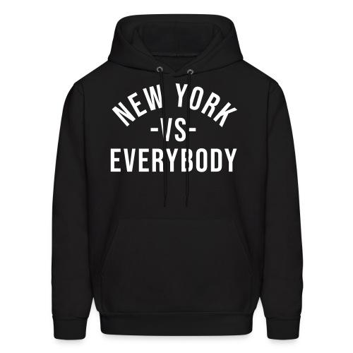 New York Vs Everybody Hoodie - Men's Hoodie