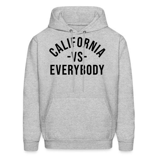 California Vs Everybody Hoodie - Men's Hoodie