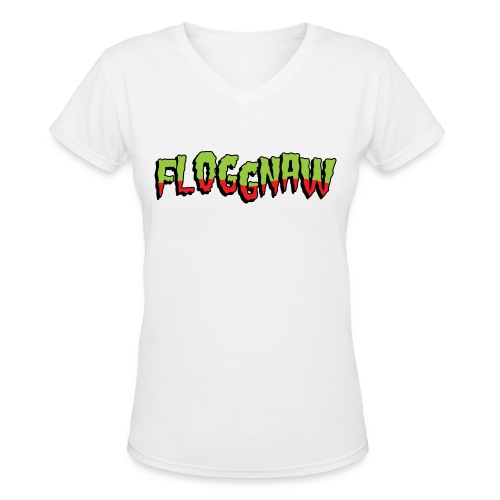 Floggnaw V-Neck - Women's V-Neck T-Shirt
