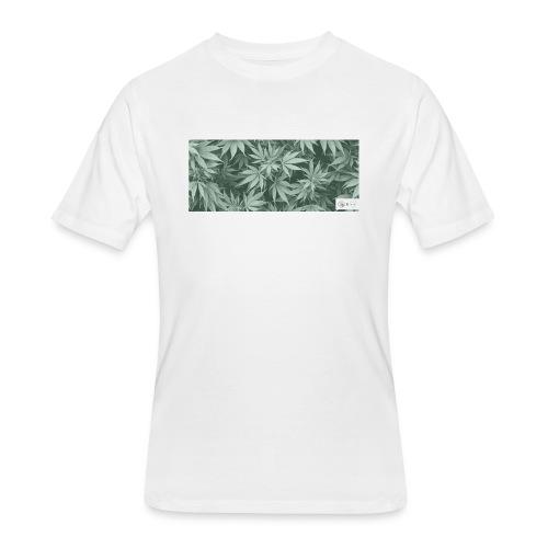 the GARDEN - Men's 50/50 T-Shirt