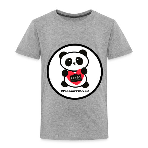 #PandaAPPROVED CIRCLE 2T 4T - Toddler Premium T-Shirt