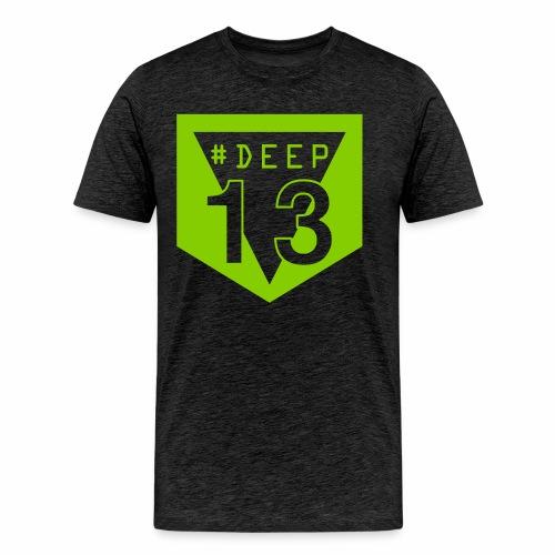 #Deep13 Green Classic Logo T-Shirt - Men's Premium T-Shirt