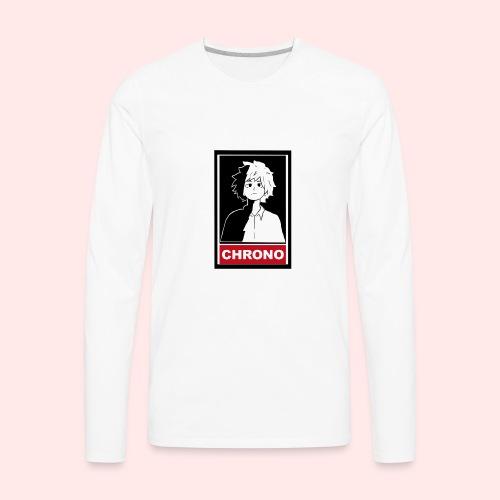 Chrono Box T - Men's Premium Long Sleeve T-Shirt