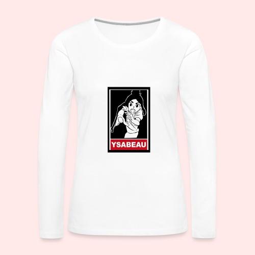 Ysabeau Box T (womens) - Women's Premium Long Sleeve T-Shirt