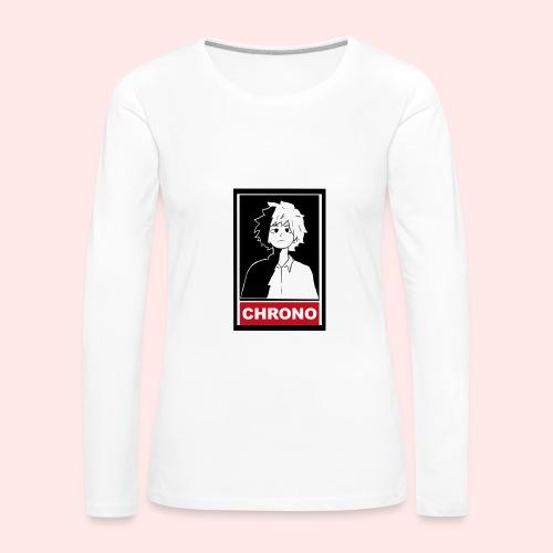Chrono Box T (womens) - Women's Premium Long Sleeve T-Shirt