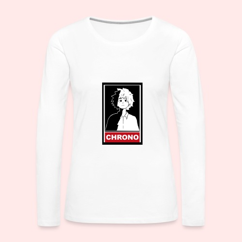 Chrono Box T (womens) - Women's Premium Long Sleeve T-Shirt