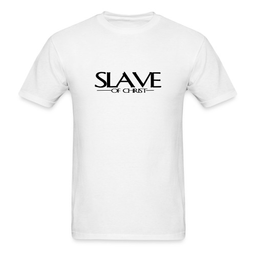 Slave of Christ Mens T-Shirt - Men's T-Shirt