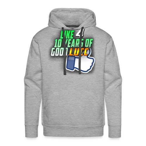 Like 4 10 Years of Good LUCC Hoodie - Men's Premium Hoodie