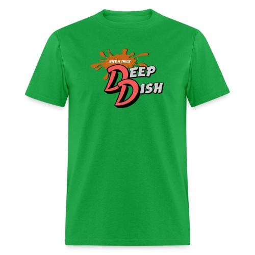 Nice N Thick Deep Dish - Men's T-Shirt