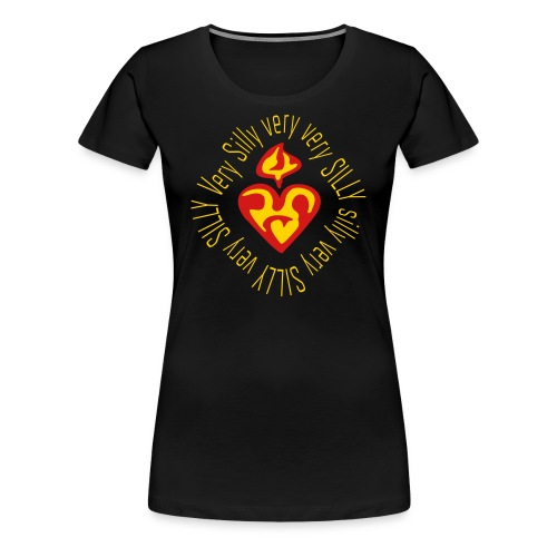Sacred Silly very Silly - golden - Women's Premium T-Shirt