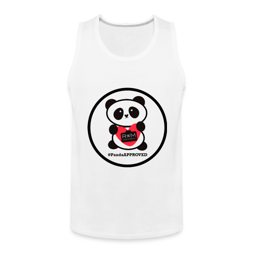 #PandaAPPROVED Circle Men's tank - Men's Premium Tank