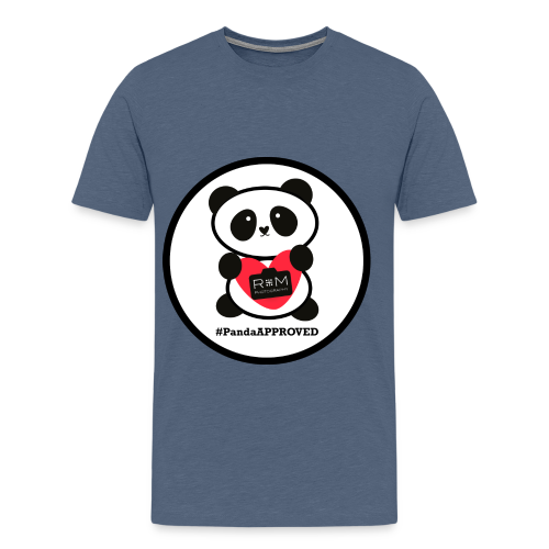#PandaAPPROVED Circle Men's T-shirt - Men's Premium T-Shirt
