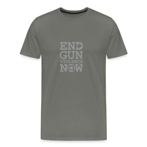* END GUN VIOLENCE NOW !  * (velveteen.print)  - Men's Premium T-Shirt