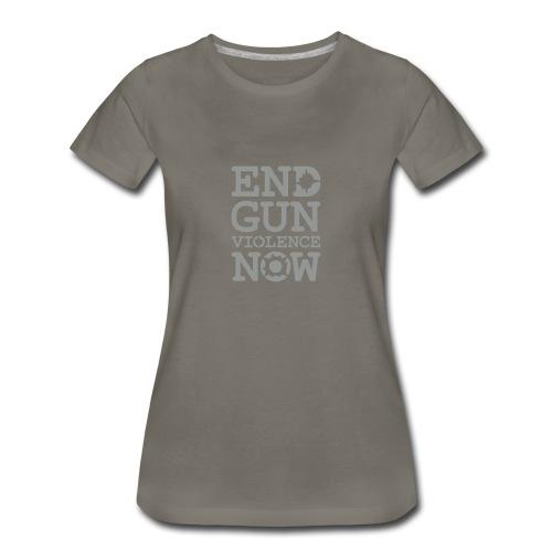 * END GUN VIOLENCE NOW !  * (velveteen.print)  - T-shirt premium pour femmes