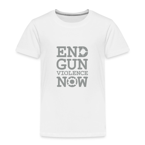 * END GUN VIOLENCE NOW !  * (velveteen.print)  - Toddler Premium T-Shirt