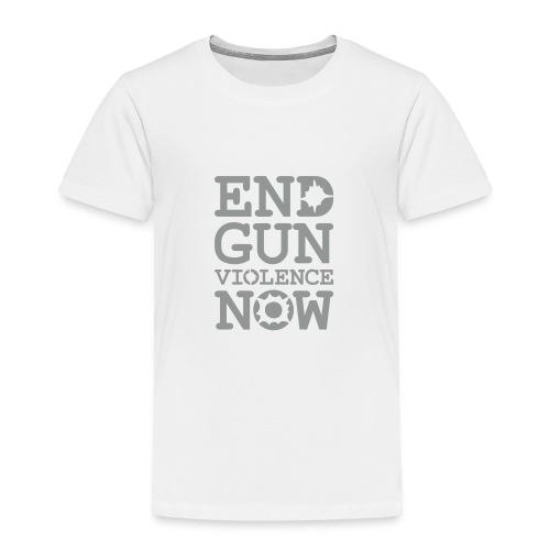 * END GUN VIOLENCE NOW !  * (velveteen.print)  - T-shirt premium pour enfants
