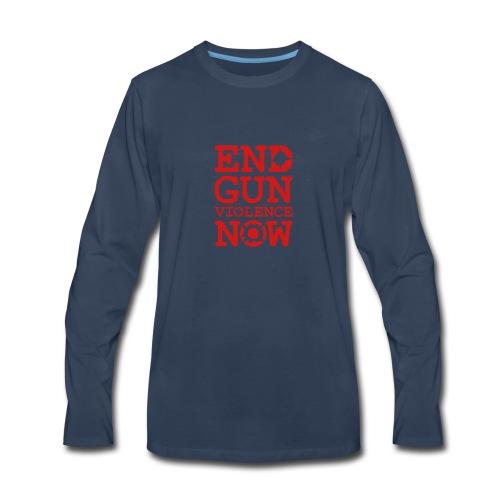 * END GUN VIOLENCE NOW !  *  - T-shirt Premium à manches longues pour hommes