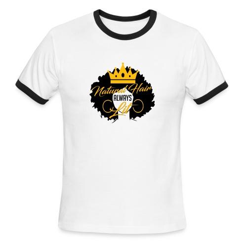 Women Naturally lit  - Men's Ringer T-Shirt