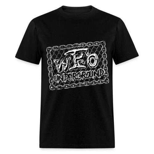 wFo Underground - B&W (Men's) - Men's T-Shirt