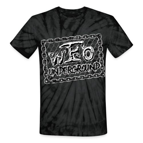 The Underground Groove - Unisex Tie Dye T-Shirt