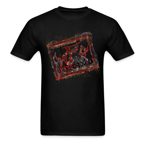 Smoldering Underground - Men's T-Shirt