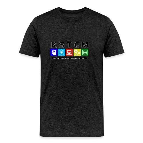 Kemp STEM logo shirt with outline - Men's Premium T-Shirt