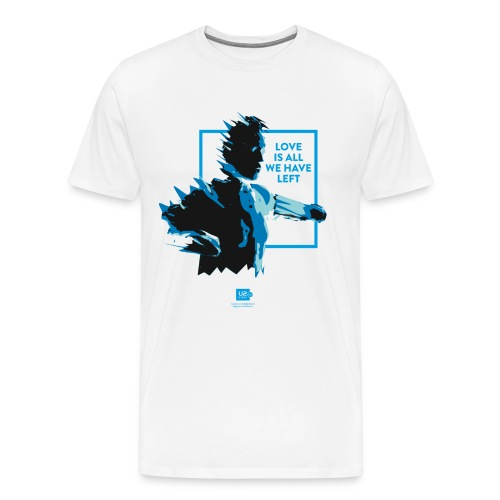 Shirts of Experience: Love Is All We Have Left - Men's Premium T-Shirt