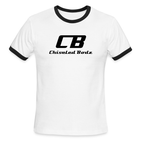 Chiseled Bodz Men's Ringer T-Shirt - Men's Ringer T-Shirt