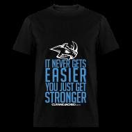 T-Shirts ~ Men's T-Shirt ~ Stronger | CutAndJacked | Mens Tee