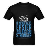 T-Shirts ~ Men's T-Shirt ~ Stronger | CutAndJacked | Mens Tee